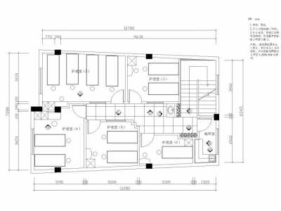 美容院人员架构图 400平美容院平面布置图
