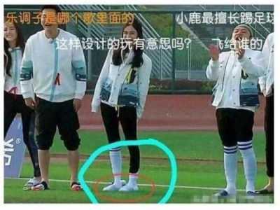 奔跑吧兄弟杨颖袜子 angelababy参加跑男被爆料袜子藏拖鞋去跑指压板