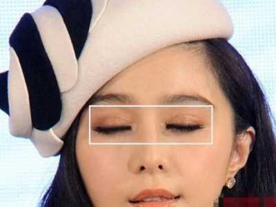 赵丽颖蕾丝双眼皮贴 女明星都离不开双眼皮贴
