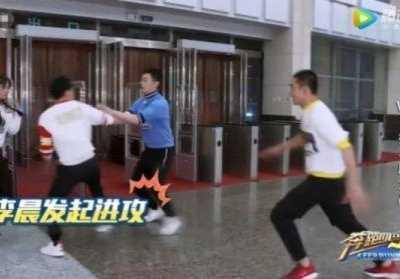 朱亚文像李晨 《跑男7》身高和力量都均等