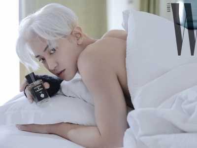 朴灿烈图片写真黑白 EXO朴灿烈无法隐藏的男性魅力吸引了视线